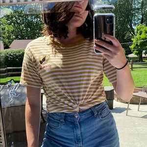 American Eagle oversized crop top